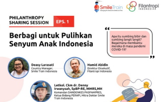 Philanthropy Sharing Session – Giving to Bring the Smiles back on Indonesian Children