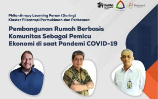 Philanthropy Learning Forum (Online) – Community-based Housing Development as an Economic Driver during COVID-19