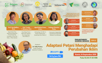 Philanthropy Sharing Session – Farmers Adaptation to Climate Change