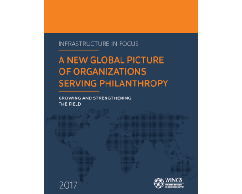 Infrastructure in Focus: A New Global Picture of Organizations Serving Philanthropy